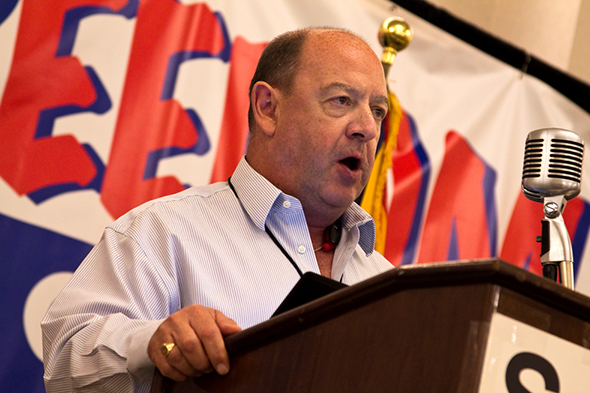 GRNC President Paul Valone addresses Second Amendment Foundation 2015 Gun Rights Policy Conference in Phoenix.