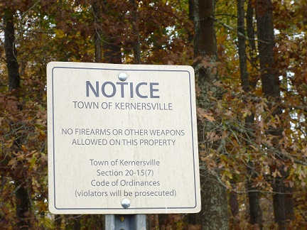 Kernersville's Illegal Signs