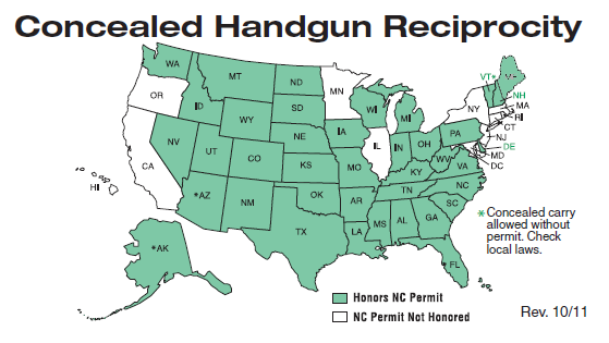Concealed Carry Reciprocity